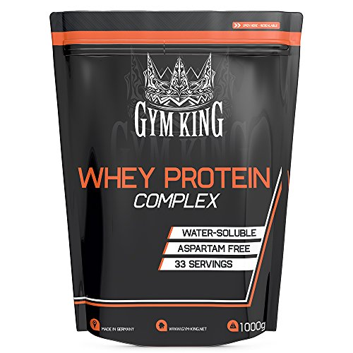Gym King Whey Protein 1ner Pack (1 x 1kg) (Vanille) (Pack Gym)