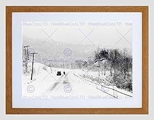 Snow shoe pennsylvania vintage postcards