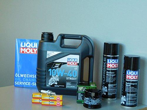 Kit di manutenzione Suzuki GSF 1200Bandit Olio Filtro olio candela servizio di ispezio
