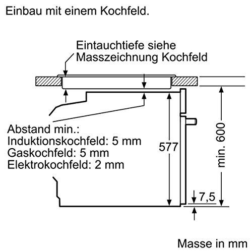 Neff BCR4522N Backofen Elektro / A+ / 71 L / mit 12 Beheizungsarten / Edelstahl - 12