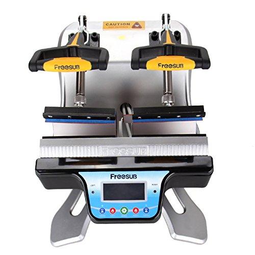 Ridgeyard Automatische Doppel Station Becher Transferpresse Maschine DIY Sublimation 2 Tassen in einem LCD Zeitsteuerung für Tasse Drucken - 5