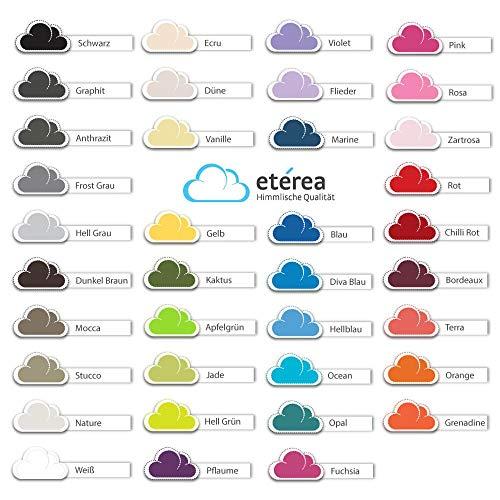 Etérea Comfort Kinder Jersey Spannbettlaken - in viele Farben und alle Größen - 100% Baumwolle, Dunkel Braun 60x120-70x140 cm - 4