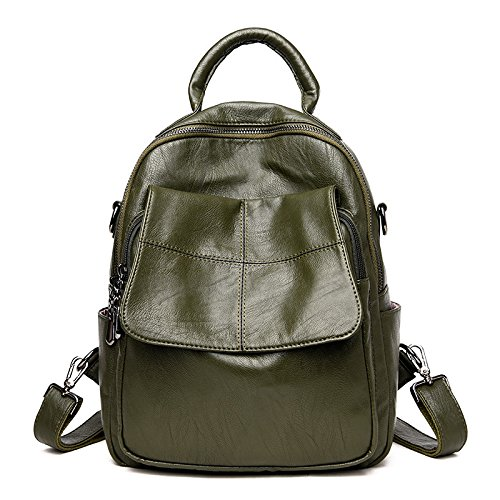 Mefly Einfache Casual Reisetasche New Tide Dame Blackish green