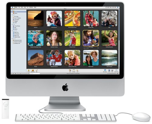 Apple MB325D/A iMac 61 cm (24 Zoll) Desktop-PC (Intel Core 2 Duo 2,8 GHz, 2GB RAM, 320 GB HDD, DVD+- DL RW, ATI Radeon HD 2600 Pro)
