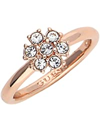 Guess Damen Fingerring Metall Rosegold California Sunlight UBR28519