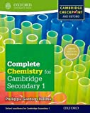 Complete Chemistry for Cambridge Secondary 1 Student Book: For Cambridge Checkpoint and beyond by Philippa Gardom Hulme