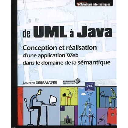 UML et Java - Conception et réalisation d'une application Web