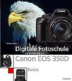 Digitale Fotoschule mit Einführung zur Canon EOS 350D. Basics