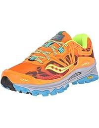 Saucony Xodus 6.0 - Zapatillas de running para mujer, color verde / rosa