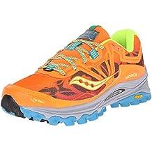Saucony Xodus 6.0 - Zapatillas de Running Para Mujer, Color Verde/Rosa