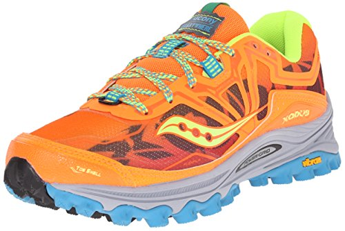 Chaussures Xodus 6.0 - femme Orange / Blue / Citron
