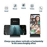 Fast Wireless Charger, HiGoing QI Wireless Ladegerät Kabellose Induktive Ladestation mit Schnellladefunktion 2 Spulen für Samsung Galaxy Note 8/S8/S8 Plus/S7/S7 Edge/S6 Edge Plus/Galaxy Note 5 und alle Qi-fähige Geräte - 6