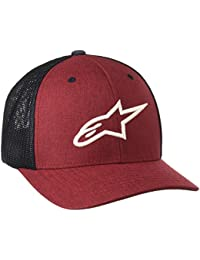 Alpinestars Newhall Curve Cap Hat, Men, NEWHALL CURVE HAT, red