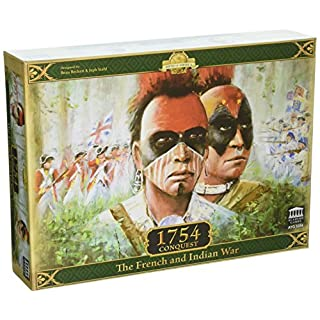 Academy Games ACA05354 1754 Conquest The French And Indian War Board Game