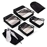 Blumtal 6 Packing Cubes; The Luggage Organiser Set is a perfect Travel Organiser; Packing Cubes for Suitcases