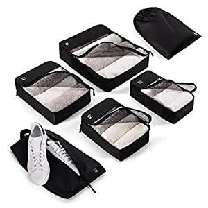 Blumtal 6 Packing Cubes For Suitcases Suitcase Divider