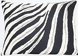 Zebra Print Cojín Manta de diseño de animales funda de almohada Funda Tela de algodón