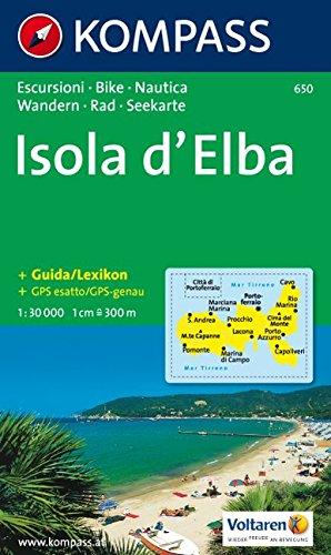 Carte touristique : Isola d' Elba