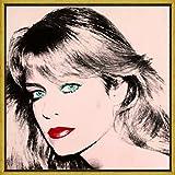 Berkin Arts Marco Andy Warhol Giclee Lienzo Impresión Pintura Póster Reproducción Print(Farrah Fawcett)