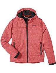 CMP - F.lli Campagnolo Softshell Jacke - Soft shell para niño, color rojo, talla 140