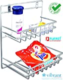 Planet Stainless Steel Detergent Holder (Size : 10W X 8D X 11H Inches)