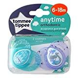 Tommee Tippee Closer To Nature: 2 x Sucette 6-18m (Little Prince)