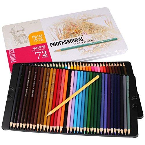 Cobee 72 Öl Farbstifte Set für Secret Garden Kunst Marco Farbige Zeichnung Aquarelle Artist Sketch...