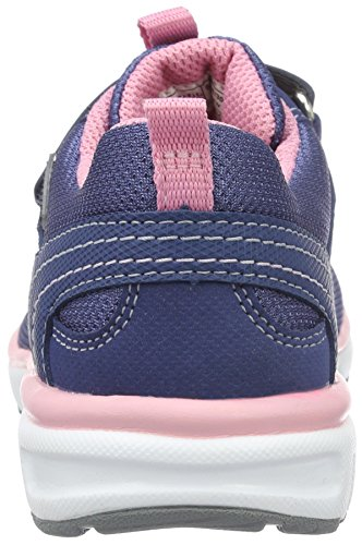 Superfit Mädchen Lumis Low-Top Blau (water Kombi)