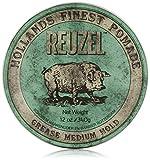 Reuzel Green Grease Medium Hold Pomade Hog 12oz by REUZEL
