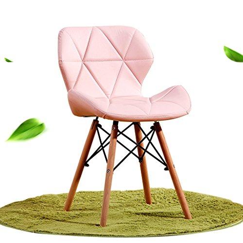Brilliant firm Schreibtischstühle Büro-Massivholz Computer Stuhl Rückenlehne Essecke Hause einfach zu installieren 39 * 39 * 74cm (Color...