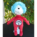 Dr. Seuss Cat in the Hat 12 Plush Thing 1 Doll by Universal Studios