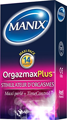 Manix Orgazmax Plus 14 Condoms by Manix