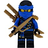 LEGO Ninjago Minifigur Jay Skybound mit 3 GALAXYARMS Schwertern