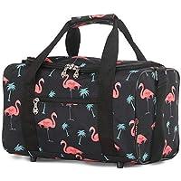 5 Cities HOLD611-688, Unisex Gepäck- Handgepäck, Black Flamingos, - .