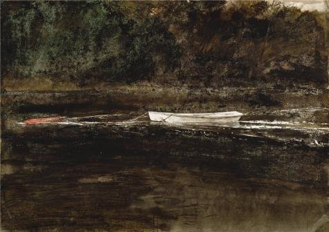 the-high-quality-polyster-canvas-of-oil-painting-andrew-wyethmooring-stump1962-size-18x26-inch-46x65