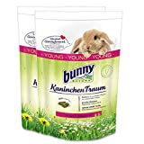 2 x 4 kg = 8 kg Bunny Kaninchen Traum Young für Zwergkaninchen bis 6 Monate