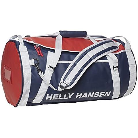 Helly Hansen HH Duffel 2 - Mochila, color azul / rojo / blanco, 50 l