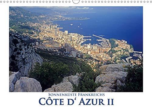Cote d' Azur II - Sonnenküste Frankreichs (Wandkalender 2020 DIN A3 quer): Die Schönheit der Cote d' Azur ist einfach überwältigend (Monatskalender, 14 Seiten ) (CALVENDO Orte) -