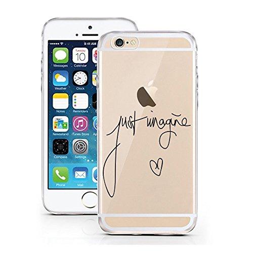 licaso iPhone 8 Handyhülle aus TPU mit Just Imagine Print Design Schutz iphone8 Hülle Protector Soft Extra (iPhone 8, Just Imagine) (Print Protector)
