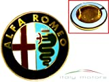 Original Alfa Romeo 155 156 166 Emblem Kühlergrill Scudetto - 60596492