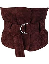 SHXJQ Femmes Pull Manteau Large Ceinture Décoration Jog Taille Ceinture  Femme Cygne Flanelle Double Anneau Boucle pour Les Pantalons Robe… b8a8a2560e9