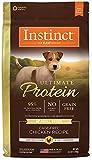 Instinct Ultimate Protein Getreide Free Rezept Natural Trockenfutter für Hunde von der Natur Vielzahl