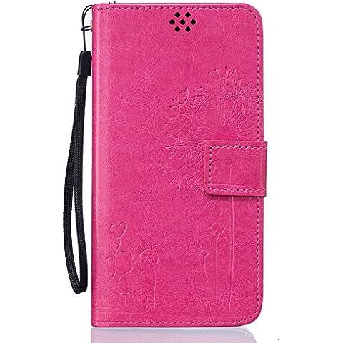 Beiuns Funda de PU piel para Xiaomi Redmi Note 3 / Note 3 Pro (5,5 pulgadas) Carcasa - TX524 Bright