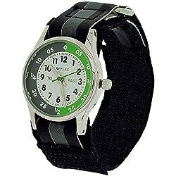Reflex Jungen Analog Quarz Uhr mit Stoff Armband REFK0003