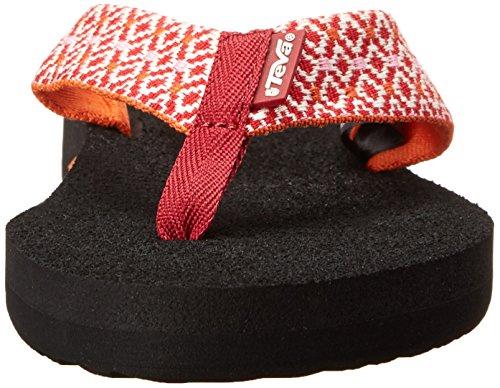Teva Mush II de Flip Flop femmes Rombo Red