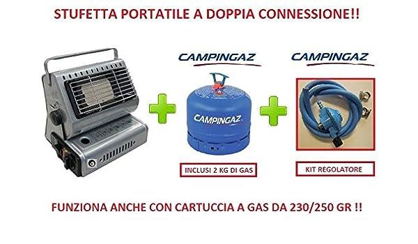 Radiateur Chauffage Soufflant Portable à Double Connexion