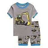 Tarkis Jungen Pyjama Schlafanzüge Lange Zweiteiliger Schlafanzug 1-6 Jahre, 1-bagger, 86