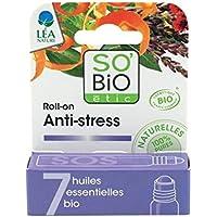 SO 'BIO WICKEL - SOS Anti Stress Roll On - mit 7 ätherischen Ölen - Entspannender Duft - Lindert Nervosität und... preisvergleich bei billige-tabletten.eu