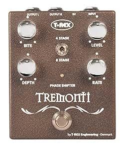 T-Rex Tremonti Pédale d'effet phaser Marron
