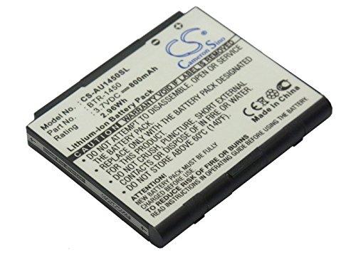 techgicoo 800mAh Akku kompatibel mit Audiovox cdm-1450, pcs-1450, 1450M Super Slice, PCS1450VM Audiovox-pcs